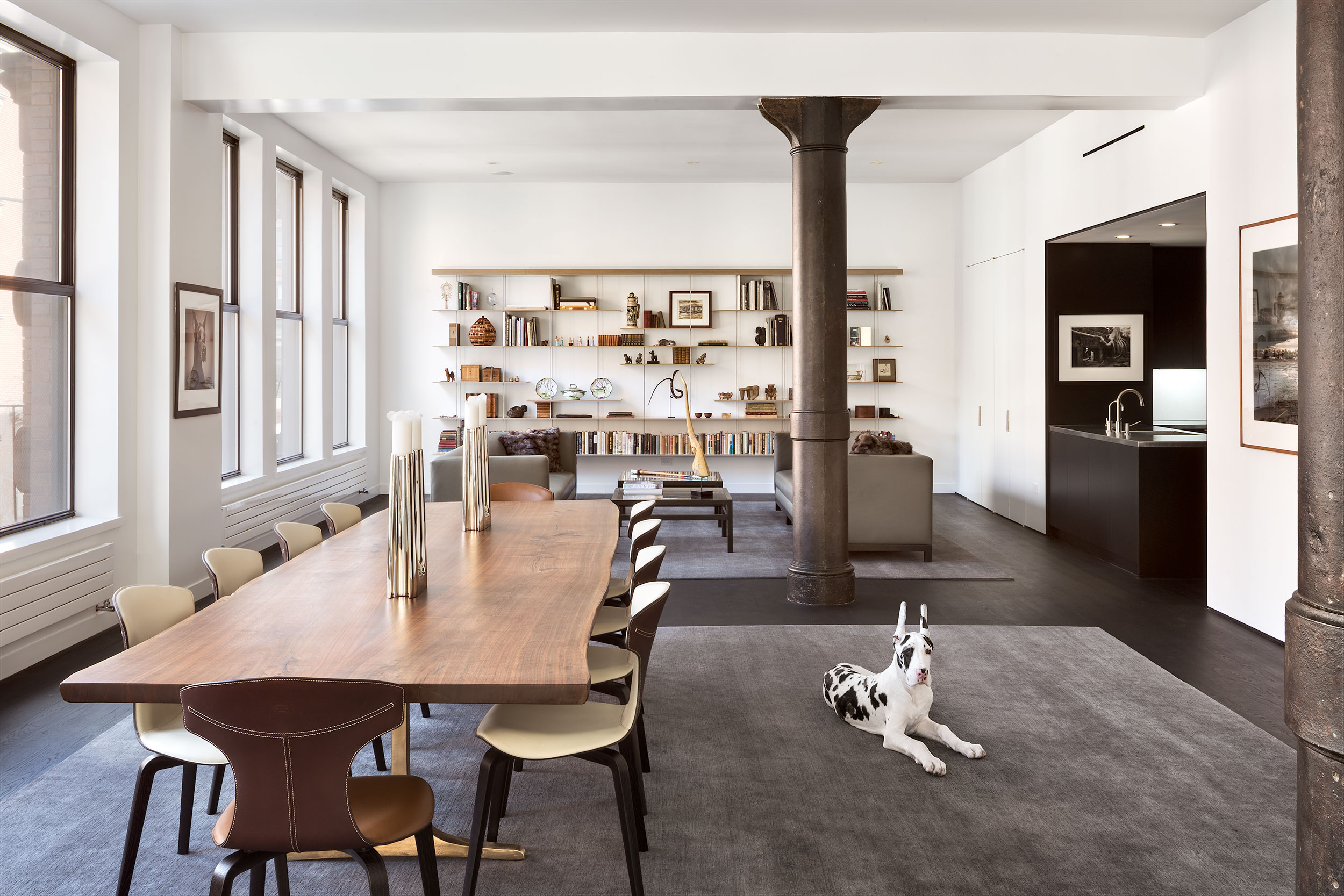 Bleeker Street Residence, Manhattan, New York, Modern Interior