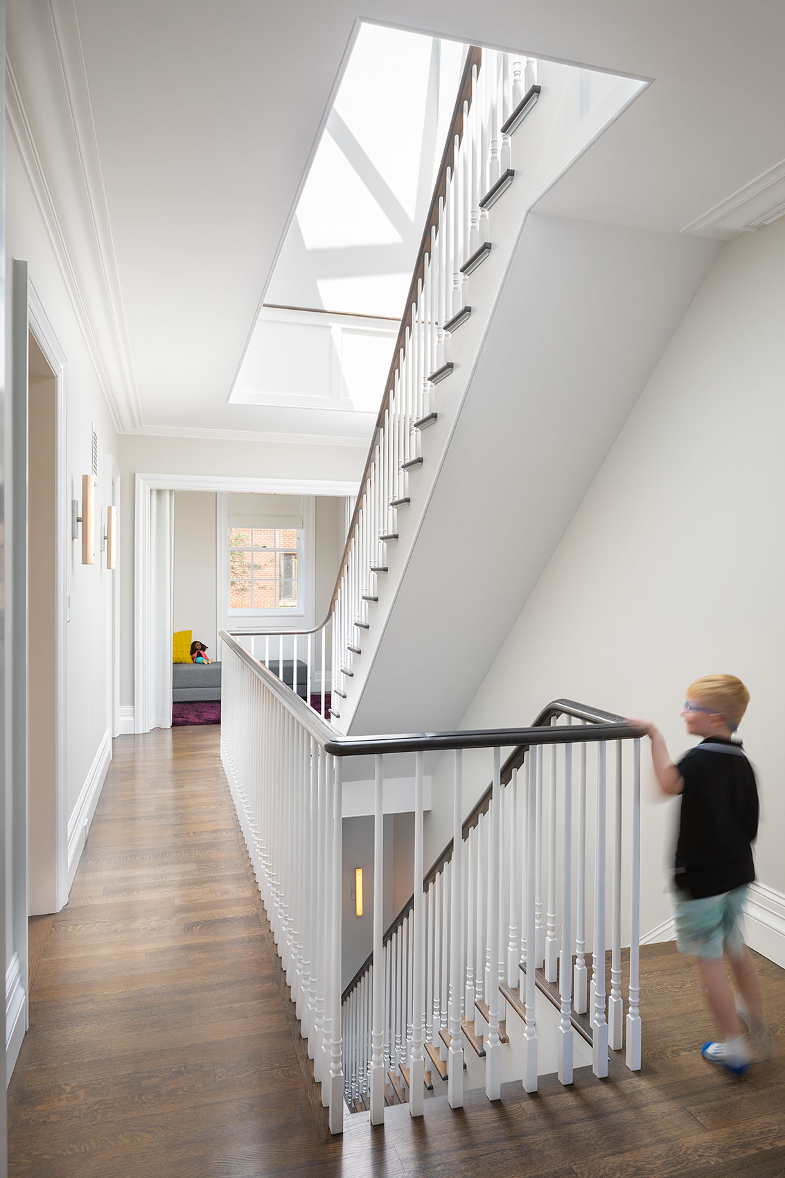 Brooklyn Heights Residence, Stair, Interior Design
