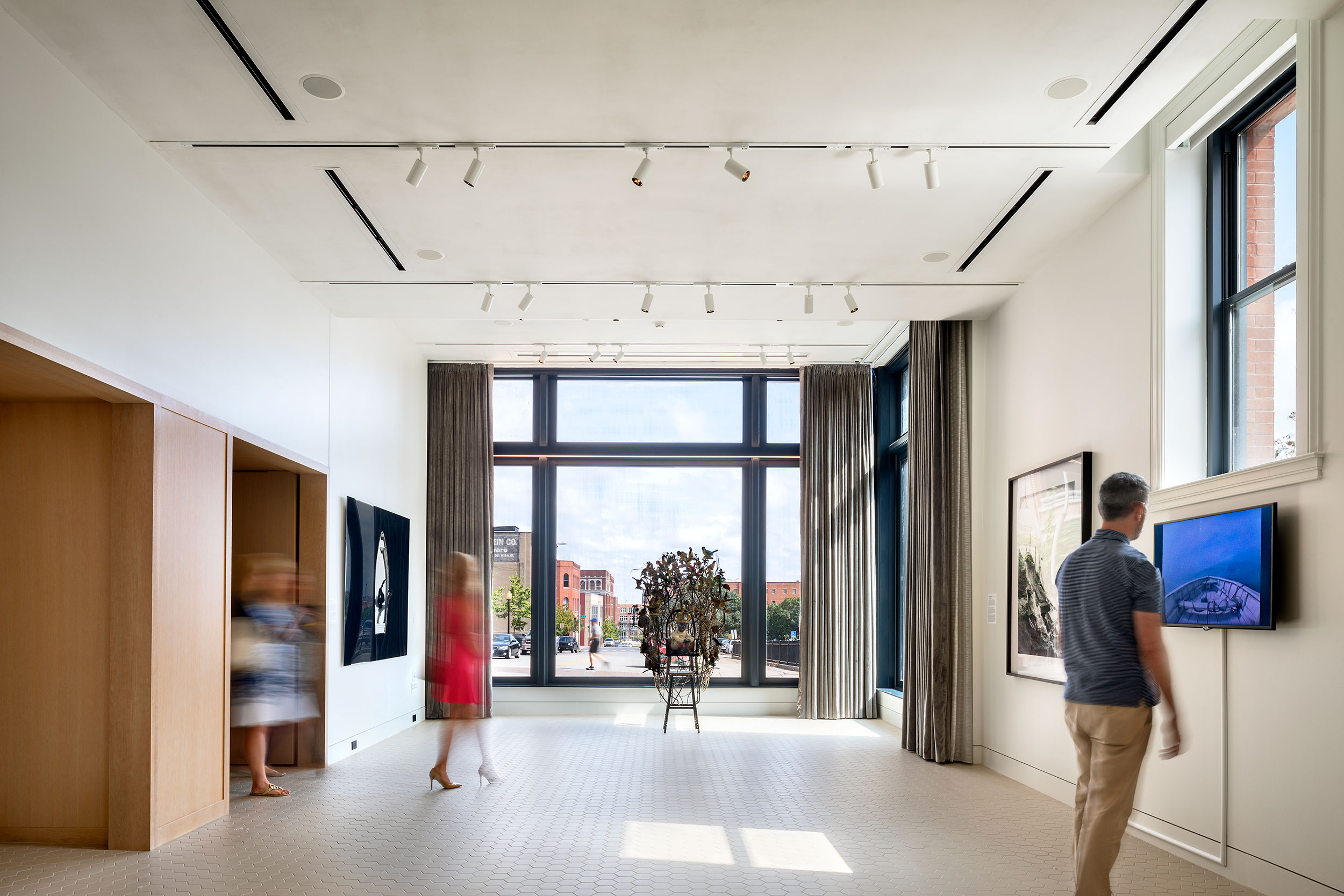 21c Museum Hotel, Art Gallery, Interior Architecture