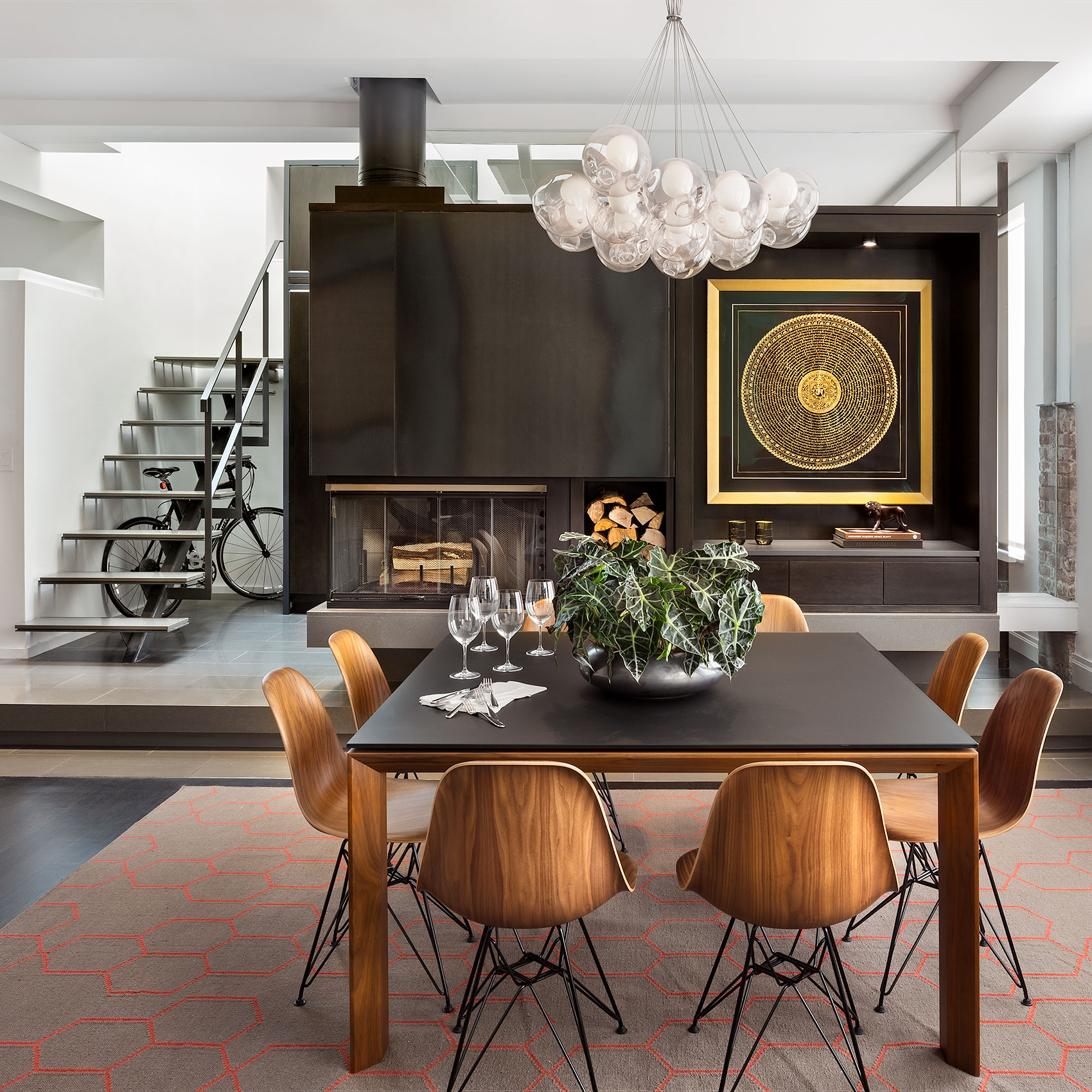 Barrow Street Residence, New York Interior Design, Decor