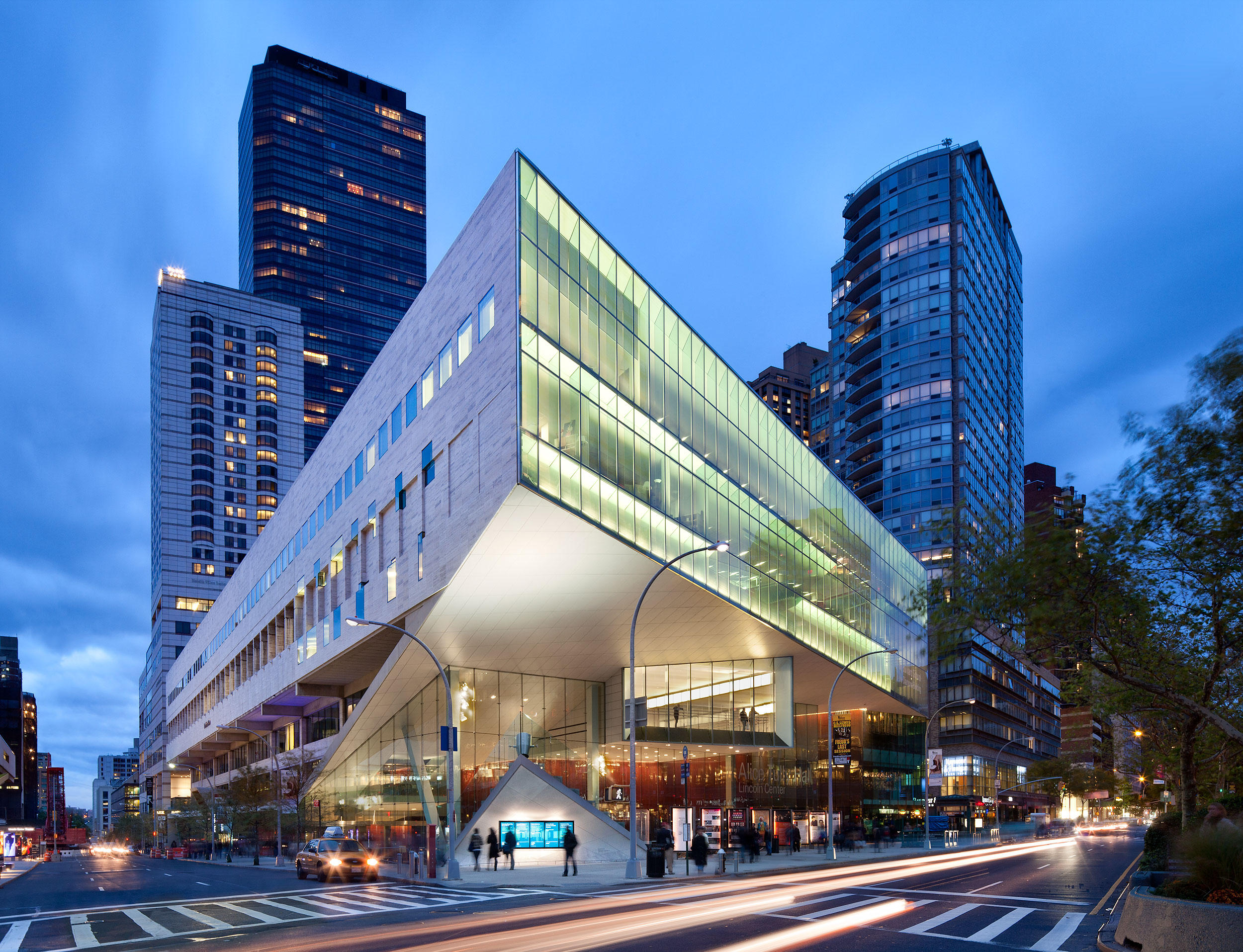 The Juilliard School, New York City, Architecture, Modern Design