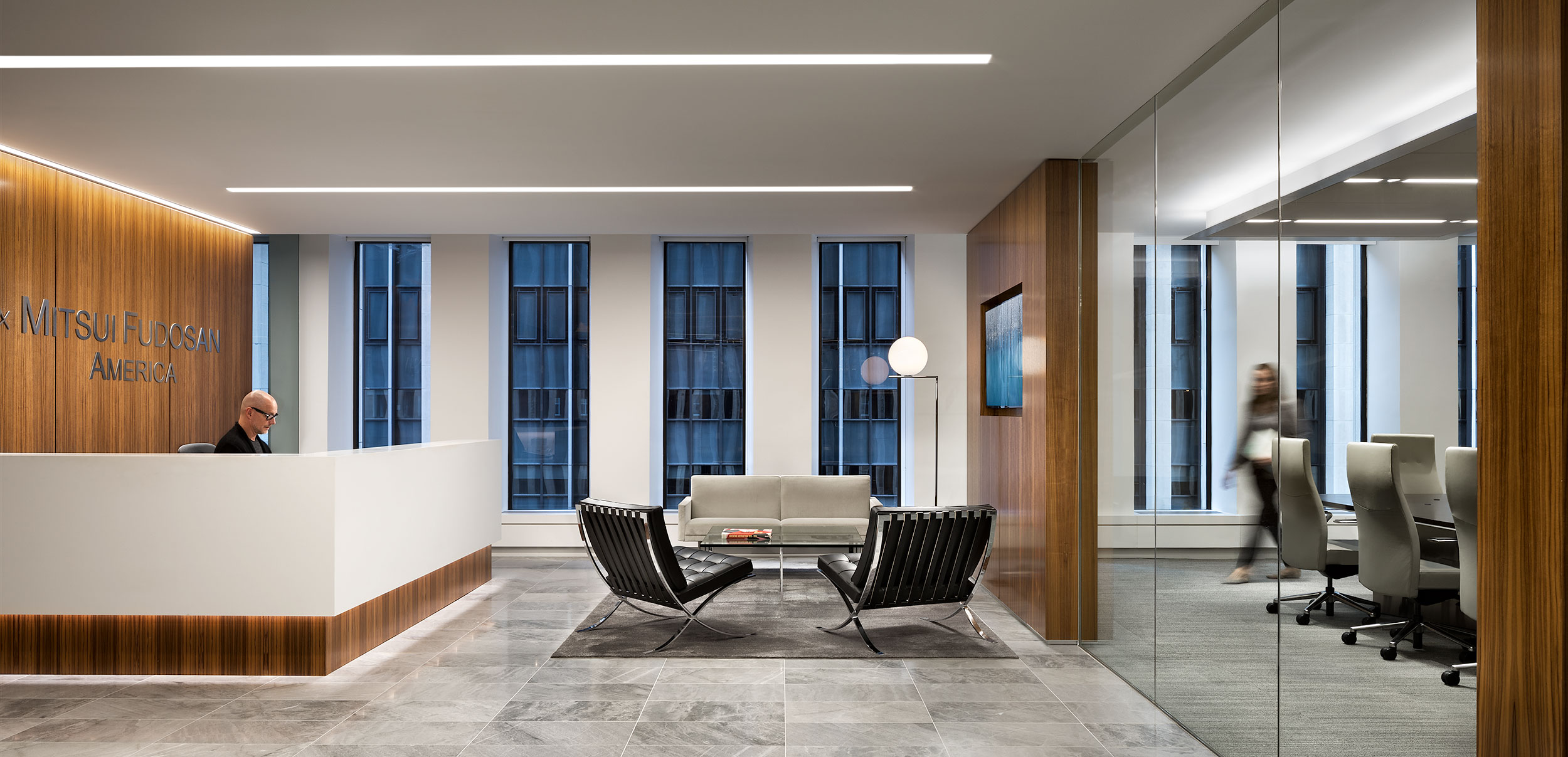 Mitsui Lobby & Conference,  New York City, Interior Design