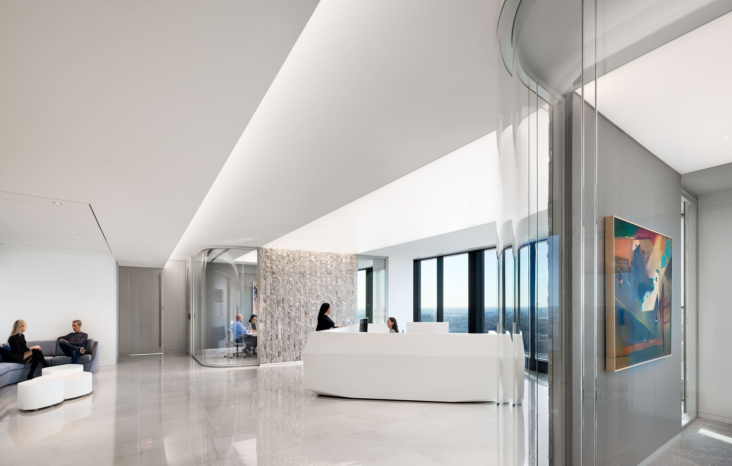 Corporate Lobby Interior Architecture, New York City