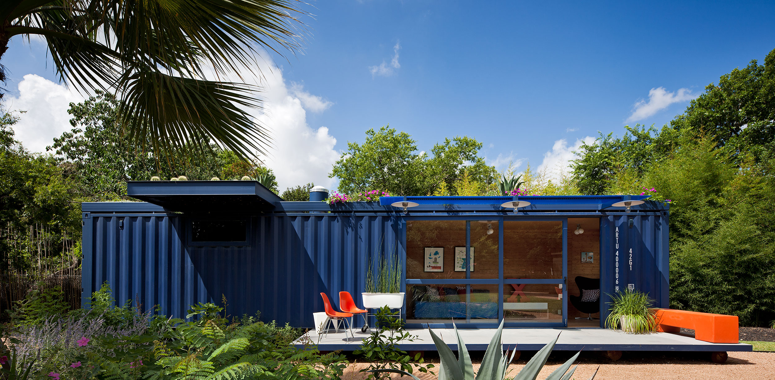 Container Architecture, Modern Design, San Antonio, Texas