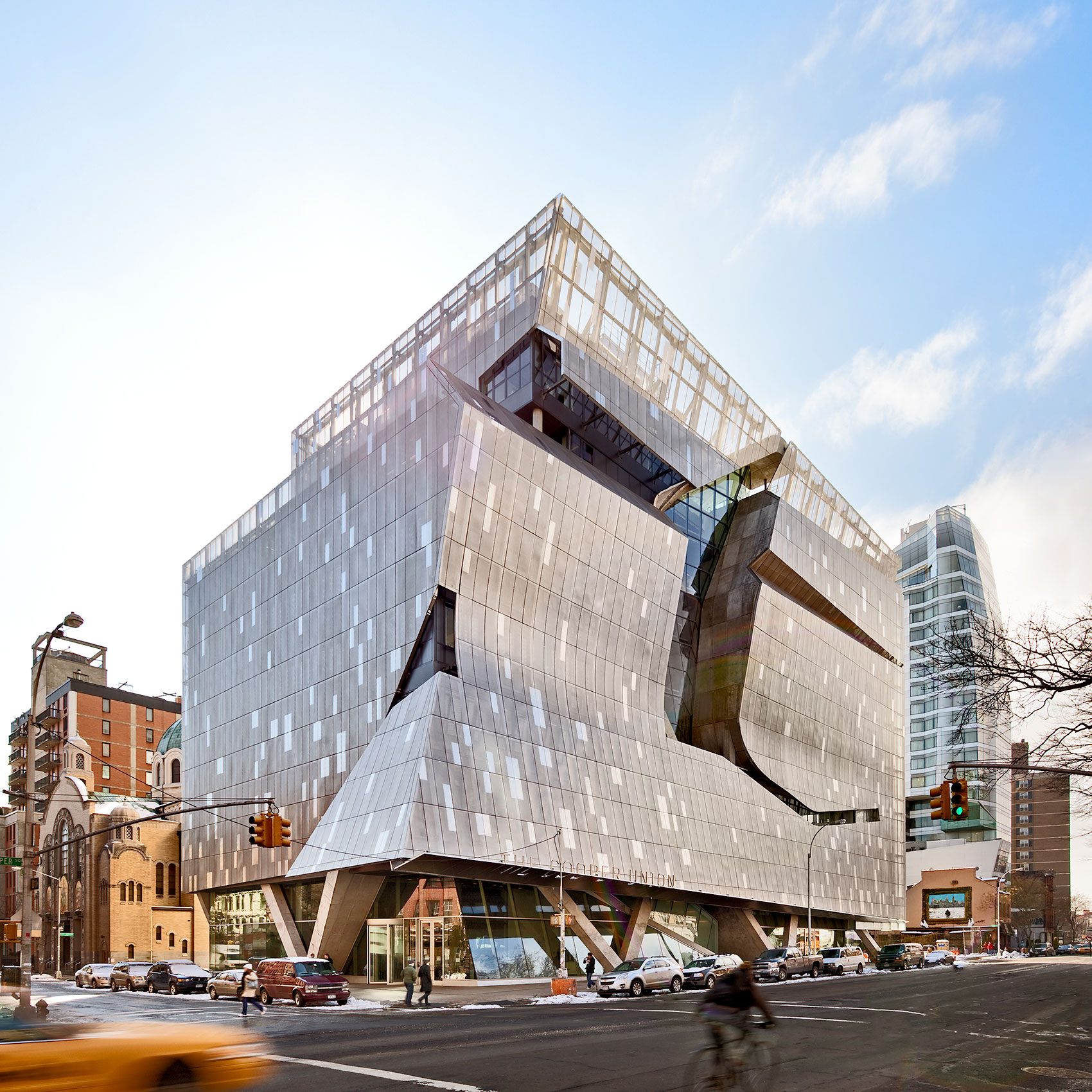 Cooper Union, New York City Architecture, Modern Design