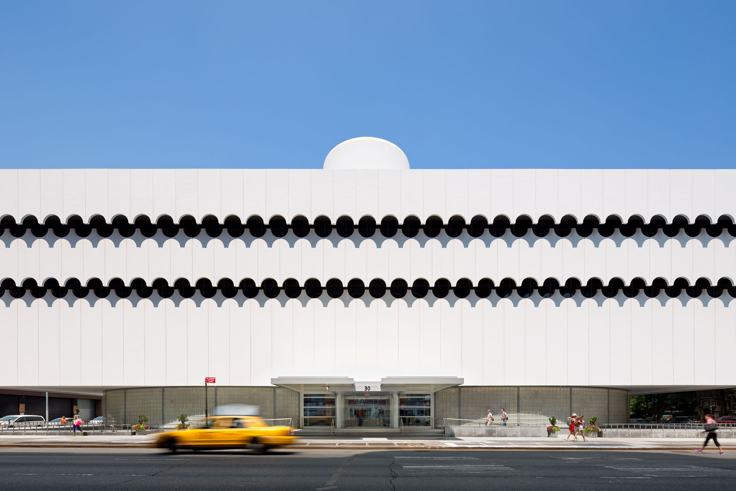 NYC Modernism, Minimal Abstract Design, Architecture