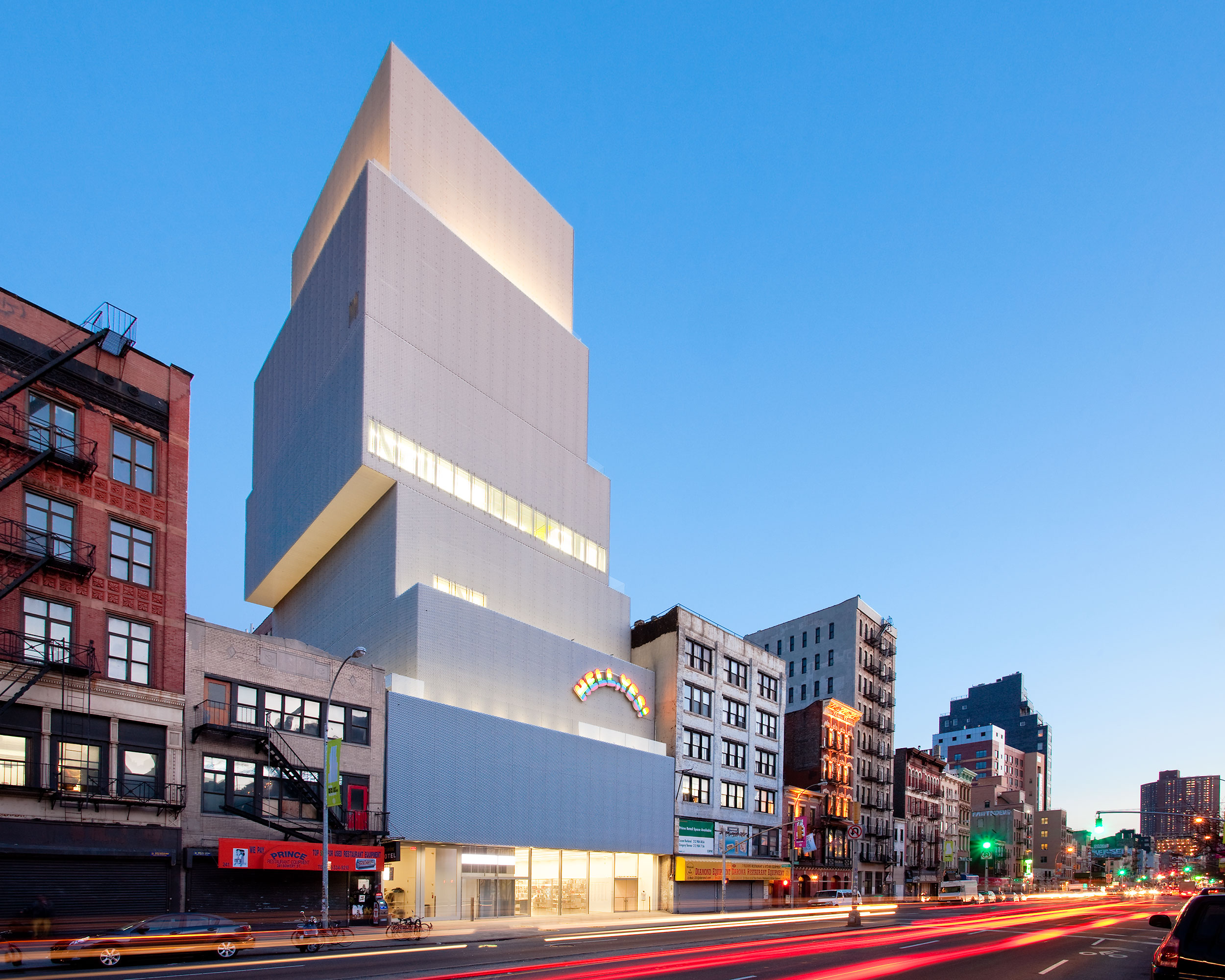 New Museum, New York City, Modernism, NYC Architecture